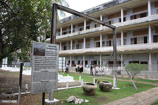the TuolSlengMuseum It remembers of the crime of the Khmer Rouge
