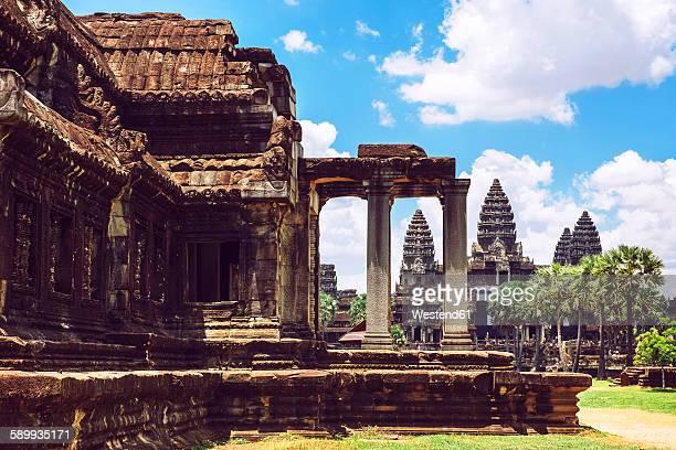 Cambodia, Siem Reap, Angkor Wat Temple