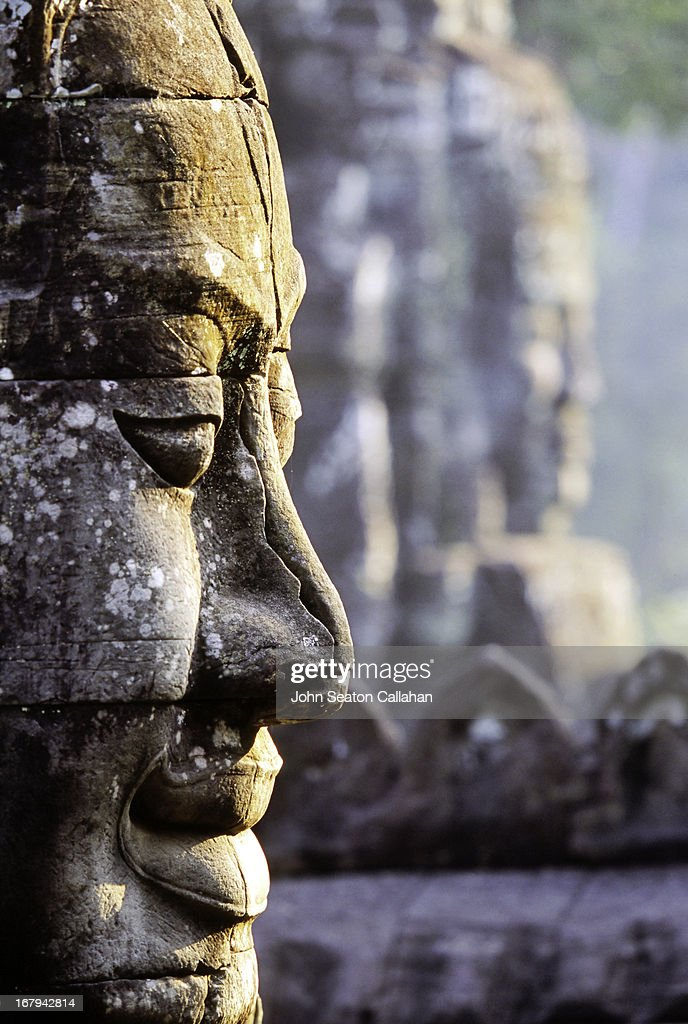 Cambodia, Siem Reap, The Bayon