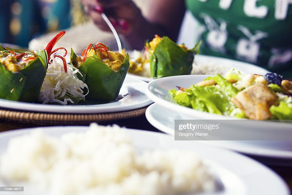 Cambodian food : Stock Photo