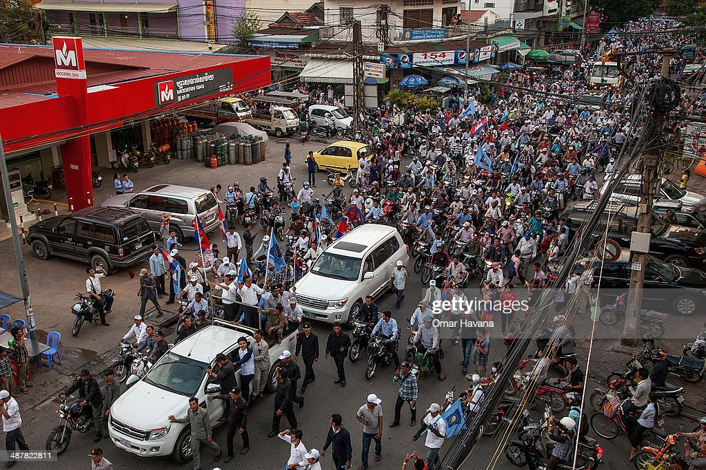 Phnom Penh Taken By Security Forces On First Day Of Local Election Campaign
