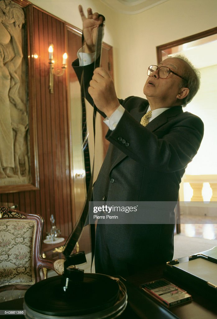 Cambodian Prince Norodom Sihanouk in his Cambodian Palace
