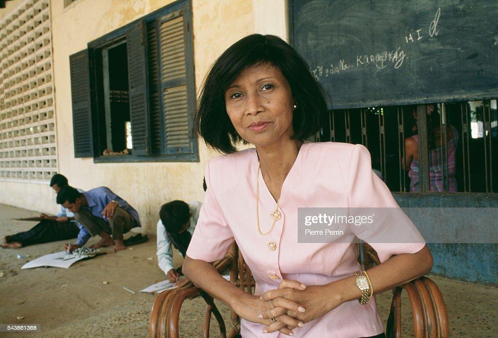 Cambodian Prince Norodom Sihanouk's daughter Buppha Devi