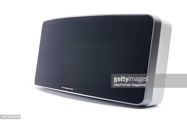 A Cambridge Audio Air 200 wireless speaker taken on April 7 2016