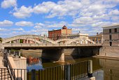historical Cambridge on the  Grand River, Ontario