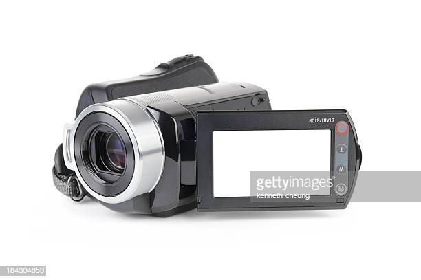 Camcorder on White Background