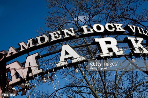 Camden Lock Market sign