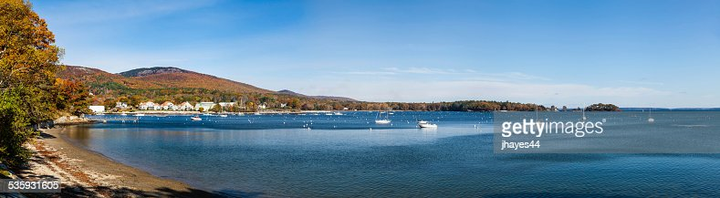 Camden, Maine Harbor : Stock Photo