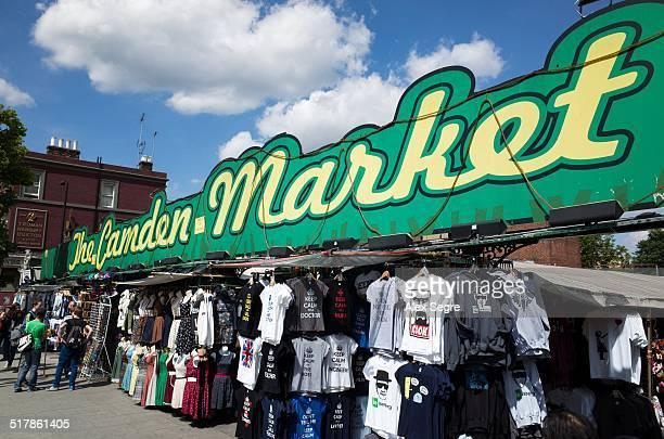 Camden Market London UK