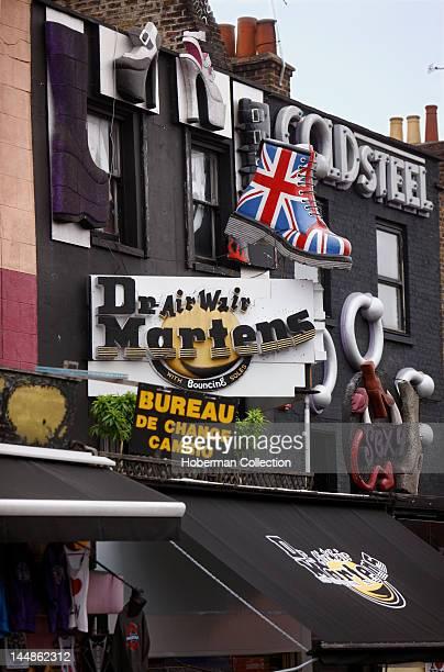 Camden Town Shops London