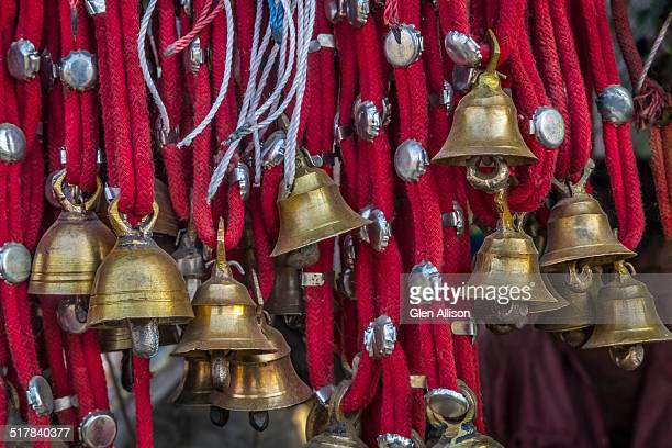 Camel decoration with brass bells