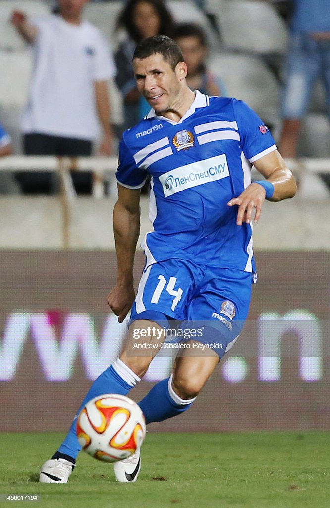 <a gi-track='captionPersonalityLinkClicked' href=/galleries/search?phrase=Camel+Meriem&family=editorial&specificpeople=697194 ng-click='$event.stopPropagation()'>Camel Meriem</a> from Apollon Limassol FC in action in the UEFA Europa League match between Apollon Limassol FC ad FC Zurich on September 18, 2014 in Nicosia, Cyprus.