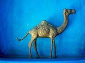 camel model, gold house decoration