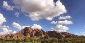 Camelback Mountain west side viewpoint, Phoenix, Scottsdale, Arizona,USA.