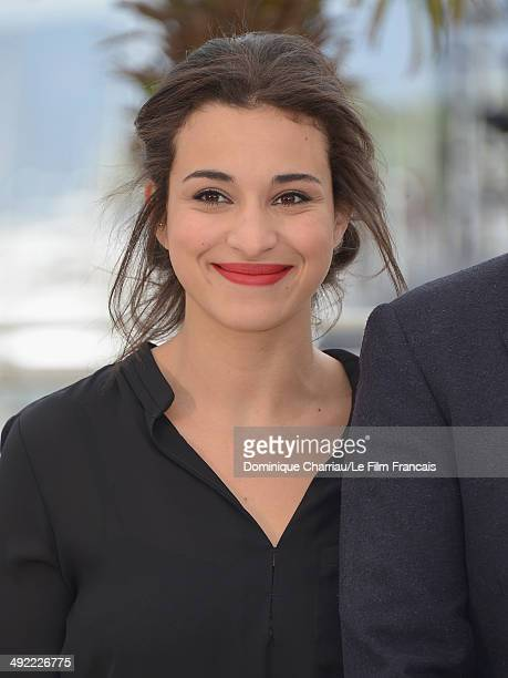 Camelia Jordana attends the 'Bird People' Photocall at the 67th Annual Cannes Film Festival on May 19 2014 in Cannes France