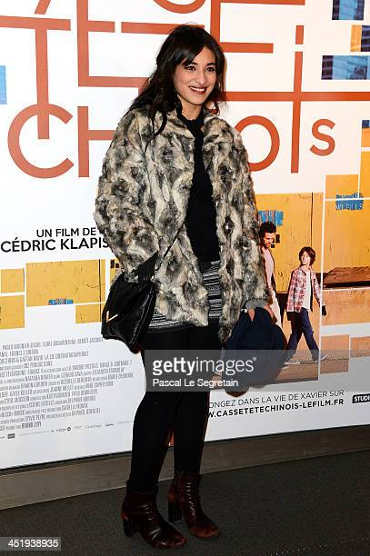 Camelia Jordana attends the 'Casse Tete Chinois' Premiere at Cinema UGC Normandie on November 25 2013 in Paris France