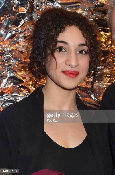 Camelia Jordana attends the JeanPaul Gaultier Front Row Paris Fashion Week Womenswear Fall/Winter 2012 at Atelier Jean Paul Gaultier on March 3 2012...