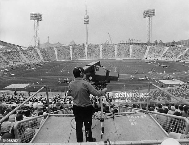 TV Camera at Olympic Stadium