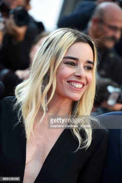 Camera D'Or jury members Elodie Bouchez attends the Closing Ceremony during the 70th annual Cannes Film Festival at Palais des Festivals on May 28...