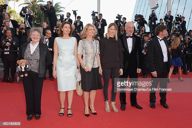 Camera d'Or jury members Lisa Nesselson Sophie Grassin Nicole Garcia Helena KlotzPhilippe Van Leeuw and Gilles Gaillard attend the 'Two Days One...