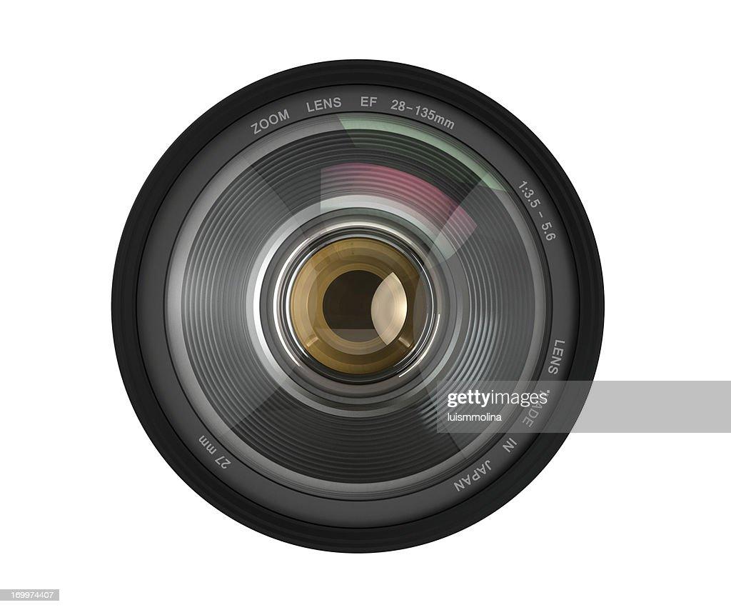 Kamera Objektiv : Stock-Foto