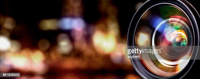 Camera lens : Stock Photo