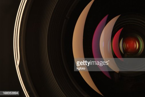 Camera lens reflections