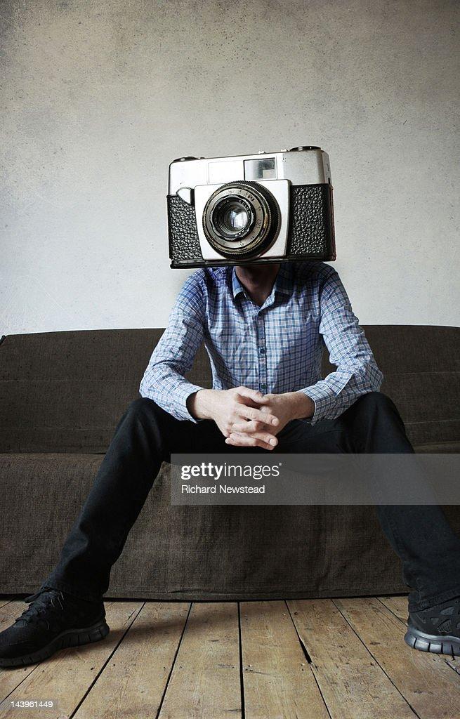 Camera man : Stock Photo