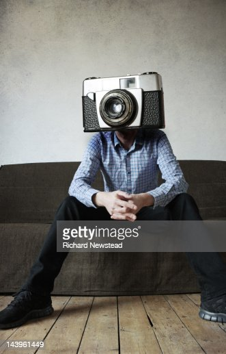 Camera man : Stock Photo