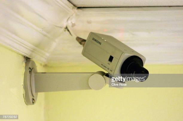 CCTV camera operates in the Pegasus Hotel in Jamaica where Pakistan Coach Bob Woolmer was found dead a week ago March 27 2007 in Kingston Jamaica A...
