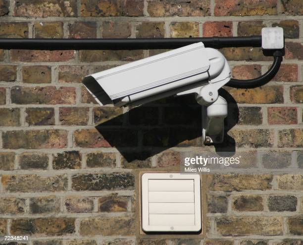 CCTV camera records the street scene in Camden on Novemebr 2 2006 in London England Richard Thomas the British government's information commissioner...