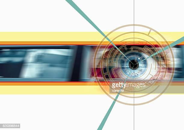 Camera Scanning Retina