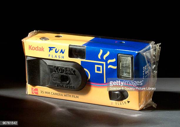 Camera with builtin 39 exposure film and flash Disposable cameras have become popular in recent times with people who want to take snapshots of...