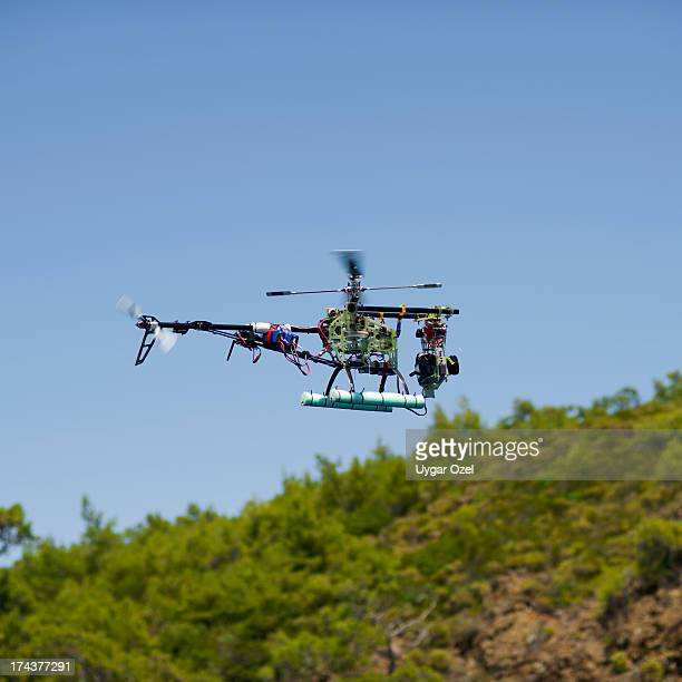 Cameracopter flying