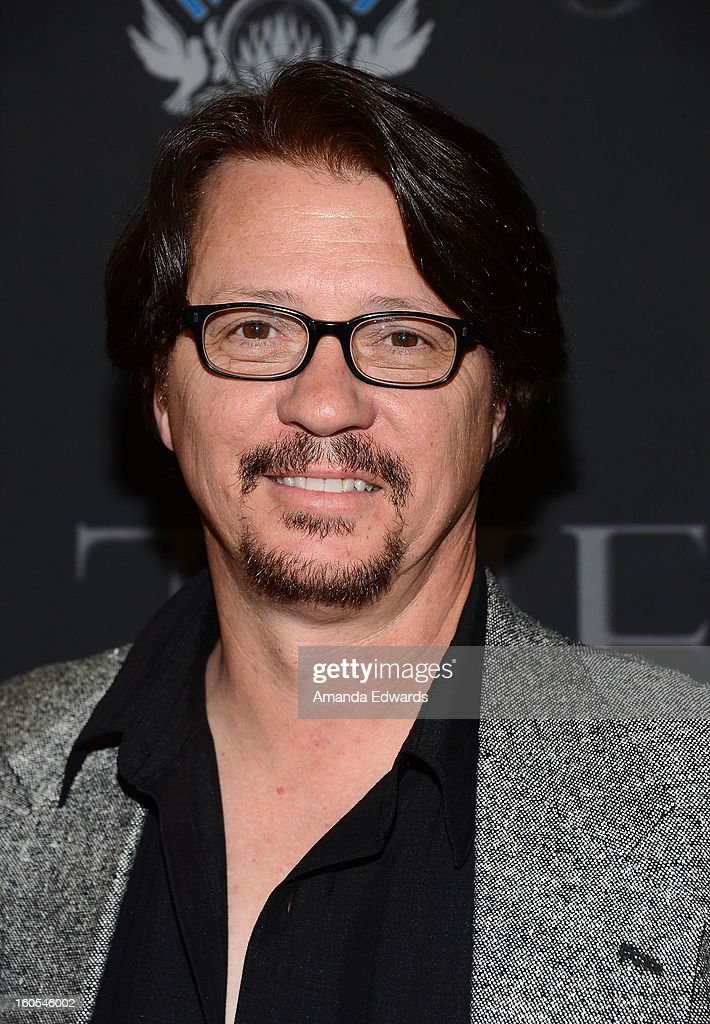Cameraman David Bacon arrives at the Los Angeles Premiere of 'The Devil's Dozen' at Mann's Chinese 6 Theatres on February 1, 2013 in Hollywood, California.
