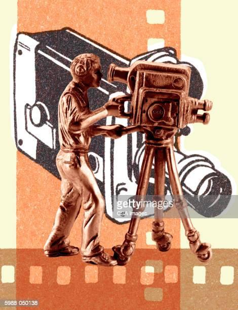 Cameraman Figurine
