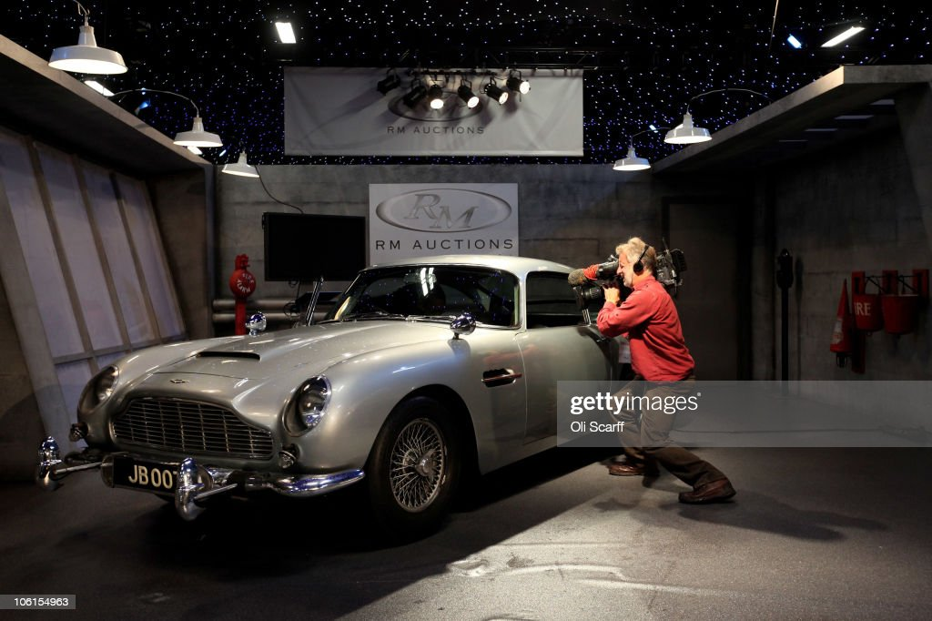 Rare Bond Car To Be Sold At Automobiles Of London Auction