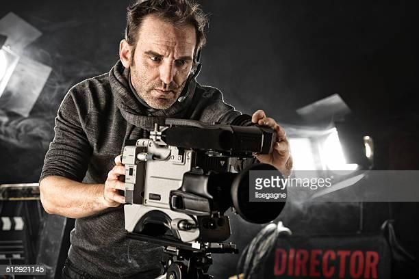 Kameramann im set