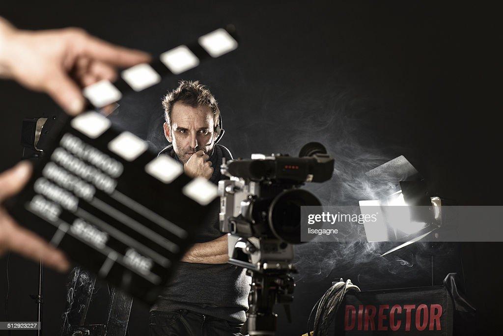 Cameraman on set