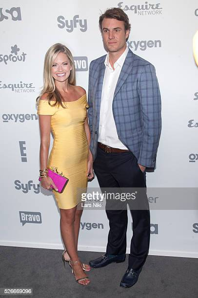 Cameran Eubanks and Shep Rose attend the '2015 NBCUniversal Cable Entertainment Upfront' at the Jacob K Javits Convention Center in New York City ��...