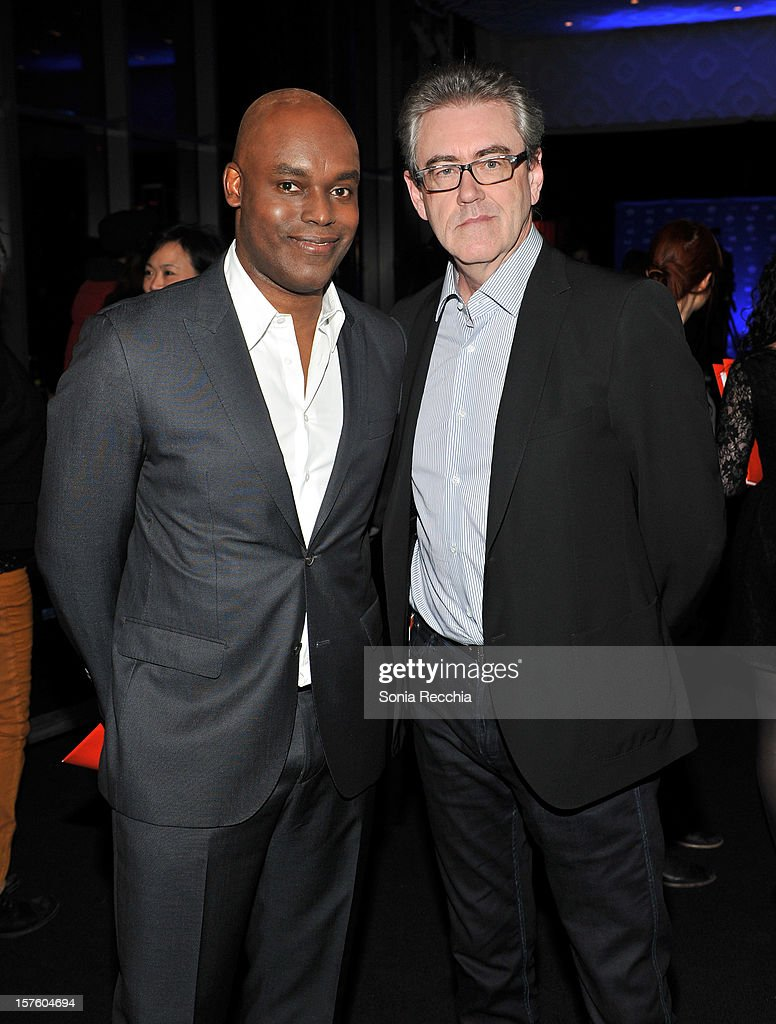 Cameron Bailey and Piers Handling attends Canada's Top Ten Announcement/Press Conference at TIFF Bell Lightbox on December 4, 2012 in Toronto, Canada.