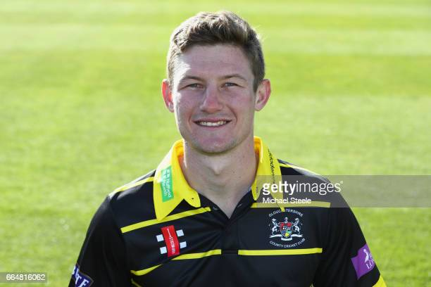 Cameron Bancroft of Gloucestershire in the Royal London One Day kit during the Gloucestershire County Cricket photocall at The Brightside Ground on...