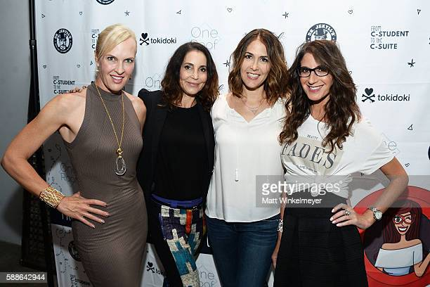Cameron Benson Stacey Friedman Christina Thau and Tami Holzman attend the book launch for 'From CStudent to the CSuite Leveraging Emotional...