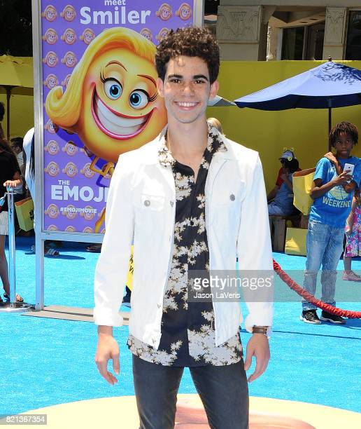 Cameron Boyce attends the premiere of 'The Emoji Movie' at Regency Village Theatre on July 23 2017 in Westwood California