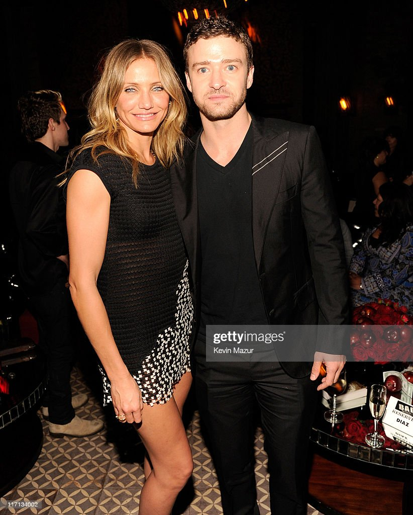 <a gi-track='captionPersonalityLinkClicked' href=/galleries/search?phrase=Cameron+Diaz&family=editorial&specificpeople=201892 ng-click='$event.stopPropagation()'>Cameron Diaz</a> and <a gi-track='captionPersonalityLinkClicked' href=/galleries/search?phrase=Justin+Timberlake&family=editorial&specificpeople=157482 ng-click='$event.stopPropagation()'>Justin Timberlake</a> attend the after party for the New York premiere of 'Bad Teacher' at the The Bowery Hotel on June 20, 2011 in New York City.