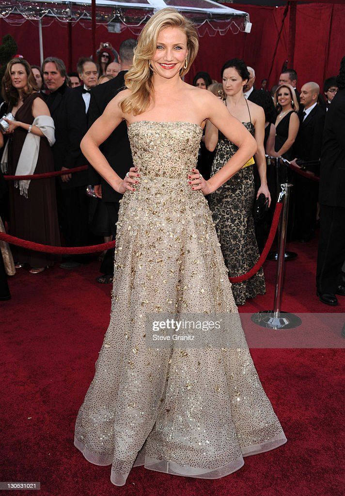 Cameron Diaz arrives at the 82nd Annual Academy Awards held at the Kodak Theatre on March 7 2010 in Hollywood California