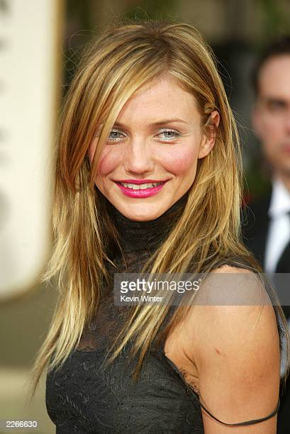 Cameron Diaz at the 60th Golden Globes at the Beverly Hilton Hotel in Beverly Hills Ca Sunday Jan 19 2003 Photo by Kevin Winter/Getty Images