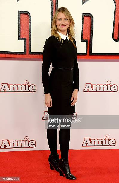 Cameron Diaz attends a photocall for 'Annie' at Corinthia Hotel London on December 16 2014 in London England