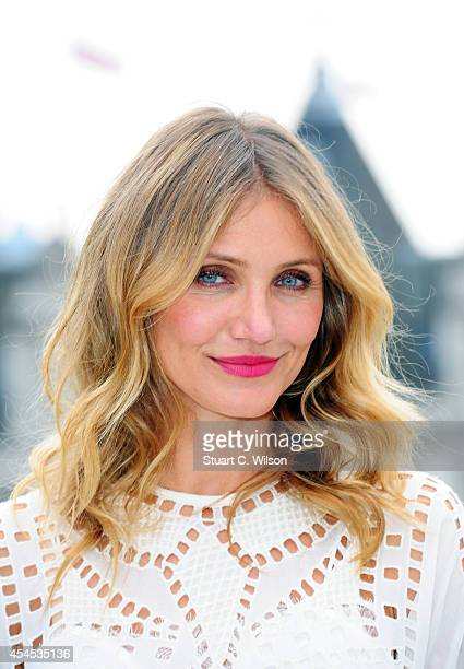 Cameron Diaz attends a photocall for 'Sex Tape' at Corinthia Hotel London on September 3 2014 in London England