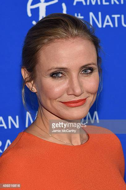 Cameron Diaz attends the 2014 Museum Gala at American Museum of Natural History on November 20 2014 in New York City
